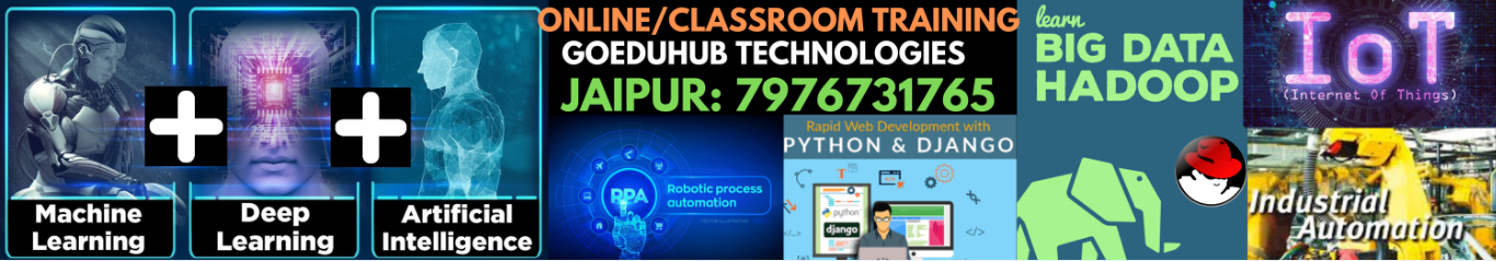 Summer training at Goeduhub Technologies-Jaipur