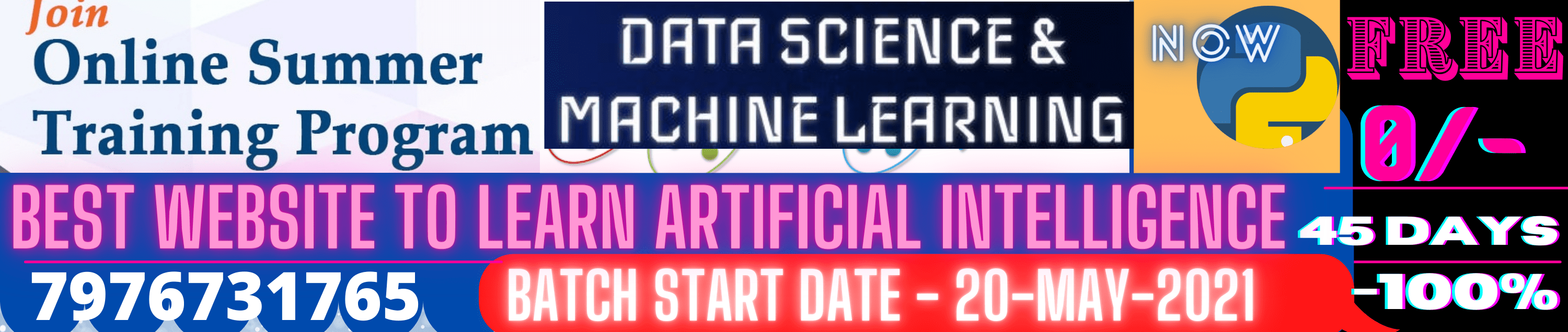 Artificial Intelligence(AI) & Machine Learning(ML) Training in Jaipur